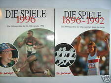 2 BÄNDE 100 JAHRE OLYMPIA OLYMPIADE OLYMPISCHE SPIELE 1996