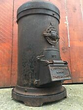Vintage Antique CHARLES PORTWAY NO.1 TORTOISE Stove Log Wood Burner