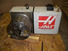 "HAAS ROTARY INDEXER, TABLE, 4TH AXIS HRTA6 , 8"" PRATT BURNERD 3 JAW CHUCK EXC."