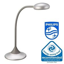 Philips Massive Warren Table Desk Office Modern Lamp Energy Saving Flex Arm 4448