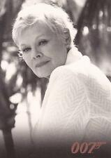 """James Bond In Motion - BA20 """"Judy Dench as M"""" Bond Allies Chase Card"""