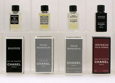 CHANEL Collection 4 mini perfumes man. Egoïste, Pour Homme, Antaeus 4ml