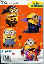 MINIONS - Simplicity Costume Sewing Pattern for Children - S-M-L (3-8)