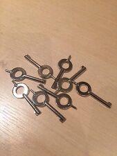 Genuine Ex Police Handcuff Key. Key For Hiatt Standard Cuffs. x 10.