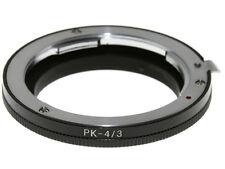 Adapter per montare obiettivi Pentax K su corpi Olympus 4/3. Adattatore.