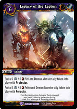 WOW WARCRAFT TCG WAR OF THE ANCIENTS : LEGACY OF THE LEGION X 3