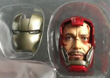 Hot Toys 1/6 MMS213 IRON MAN 3 Silver Centurion Mark 33 Tony Stark HEAD SCULPT