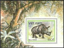 Vietnam 1988 Rhinoceros/Rhino/Animals/Nature/Wildlife/Conservation 1v m/s n43073