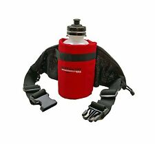 Bushwhacker Oasis Red Running Hydration Belt Bottle Hiking Biking Jogging Pack