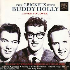 BUDDY HOLLY The Crickets With / Cover To Cover CD