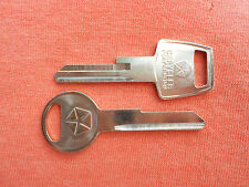 2 DODGE CHRYSLER PLYMOUTH MOPAR NOS KEY BLANKS 1967