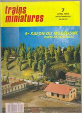 TRAINS MINIATURE N°7 BB 4200 MISTRAL /LA MAURIENNE / LESTAGE BOUGIE /BB  CARMINA