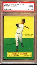 PSA 2 GOOD MICKEY MANTLE 1964 TOPPS STAND-UP BASEBALL CARD VINTAGE GRADED *03100
