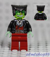LEGO - Monster Alien Vampire Minifigure - Slime Face Dr D Zaster Male Zombie Guy