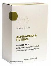 Holy Land Alpha-Beta And Retinol  Peeling pads  + samples