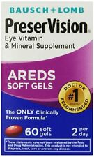 2 Pack - Bausch & Lomb PreserVision Soft Gels 60 Soft Gels Each
