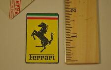 "MAGNETIC FERRARI 1 1/4"" x 2"" DECAL STICKER KIT"