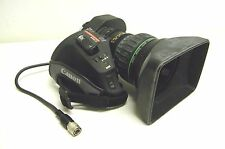 "Canon J17ax7.7B4 WRSD II SX12 2/3"" Broadcast Video BCTV Lens with 2x Extender"