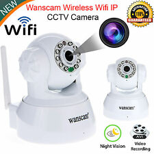 2017 Wanscam IP Camera Wireless WIFI CCTV Security Webcam Night Vision UK