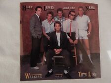 """Huey Lewis """"Walking On A Thin Line"""" PICTURE SLEEVE!! BRAND NEW!"""