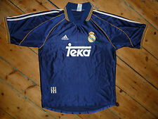 large REAL MADRID SHIRT 1998 Away 3rd FOOTBALL JERSEY SPAIN LA LIGA Raul Era Top