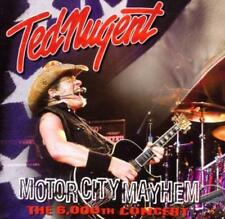 Ted Nugent-Motor City Mayhem-the 6000 Concert (CD) NEW/sealed!!!
