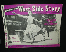 West Side Story song book Piano Arrangements 5 Songs 1960