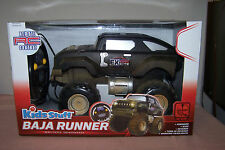 """KIDS STUFF REMOTE CONTROL  """" BAJA RUNNER """" BATTERY OPERATED - AGES 4 UP"""