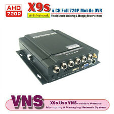 720P 4 Ch Channel H.264 Car DVR Kit and Vehicle Truck Video Recorder Network DVR