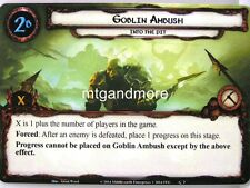 Lord of the Rings LCG - 1x Goblin Ambush #002 - Nightmare Deck Khazad-Dum