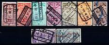 BELGIUM - BELGIO - 1923-1924 - Francobolli per pacchi postali: stemma
