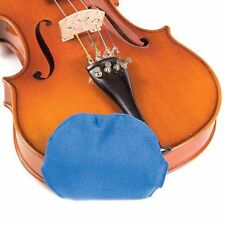 Chin Cozy Small Blue Chinrest Pad: 1/4 Violins