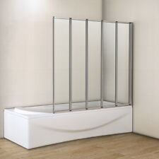 5 Folds Bathroom New Design Folding Bath Shower Screen Door Panel M12