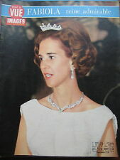 POINT DE VUE N° 1029 BELGIQUE FABIOLA REINE ADMIRABLE IRAN PRINCESSE SHANAZ 1968