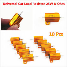 10x Car LED Bulb Turn Signal Light Load Resistor Fix Fast Flash Blink 25W 8-Ohm