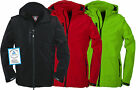 FIFTY FIVE HERREN SOFTSHELLJACKE POWER TÜV GEPRÜFT HERRENJACKE WESTE NEU