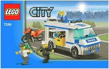 Lego City Prisoner Transport 7286 (ohne OBA u. ohne Box)