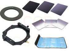 77mm Adater Ring+Filter Holder+Graduated ND2 4 8+ND2 4 8 F Cokin Z Lee Singh-Ray