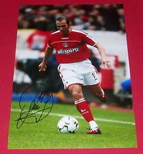 PAOLO DI CANIO CHARLTON ATHLETIC SIGNED AUTOGRAPH 12X8 PHOTO