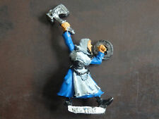 Warhammer Mordheim Sisters of Sigmar Sister with Hammer and Shield OOP