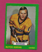 1973-74 OPC # 155 KINGS BUTCH GORING EX-MT CARD (INV#1259)