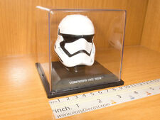 STORMTROOPER FIRST ORDER STAR WARS HELMET CASCO CASQUE 1/5 MINT WITH CASE!!!