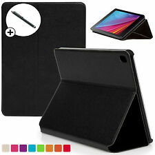 Black Clam Shell Smart Case Cover Huawei MediaPad T1 7.0 Plus + Stylus