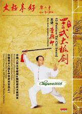 Taijiquan Taiji 42 Posture Tai Chi Sword DVD Chinese Wushu & Kongfu by Li Deyin