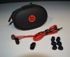 Apple Beats by Dr. Dre urBeats In-Ear Headphones RED/BLACK + NEW EARBUDS!