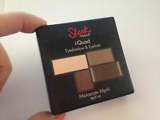 Sleek MakeUP i-Quad, Moroccan Myrrh 3 g. Free Shipping uk eye liner shadow brown
