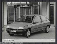 PRESS - FOTO/PHOTO/PICTURE - Renault Clio Fidji 1992