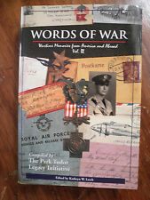 SIGNED by 7   Words of War, Volume 3 by Kathryn W. Lerch (2006, Hardcover)