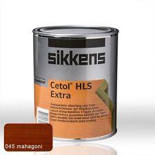 Sikkens Cetol HLS Extra mahagonie 1l - Holzschutz Lasur Holzlasur