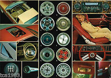 1978 OLDSMOBILE Brochure / Catalog: 442,CUTLASS,SUPREME,CRUISER,OMEGA,STARFIRE,